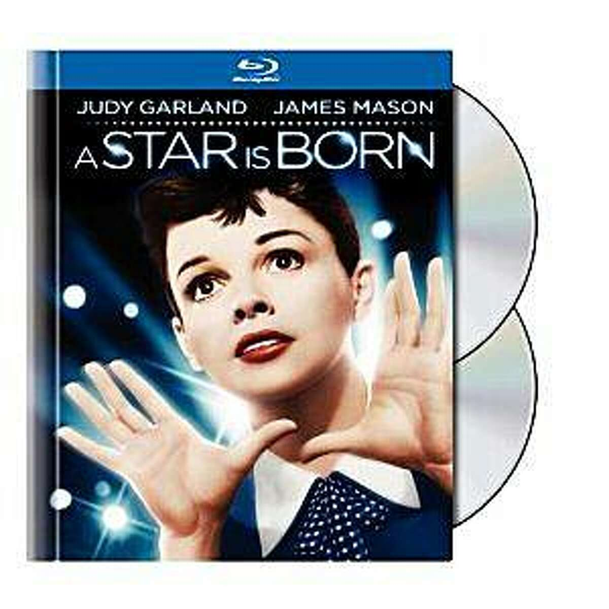Blu-ray dvd cover A STAR IS BORN