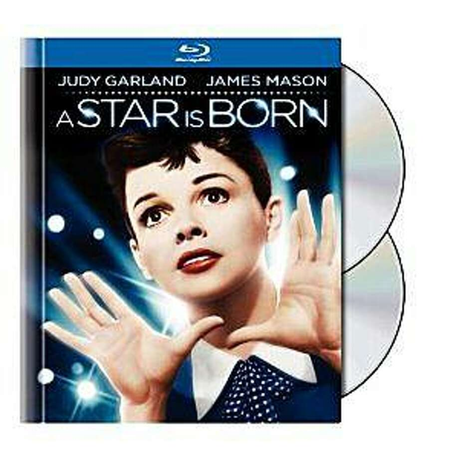 Blu-ray dvd cover A STAR IS BORN Photo: Amazon.com