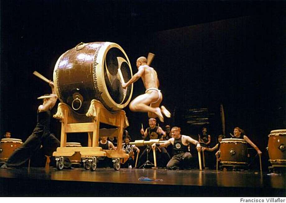 S.F. Taiko Dojo in concert Photo: Francisco Villaflor