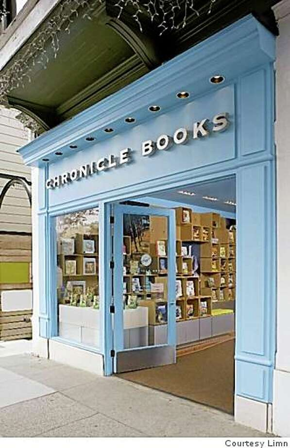 Exterior of the Chronicle Books store at 1846 Union Street in San Francisco's Cow Hollow district, designed by San Francisco architect Mark Macy. It is the company's first storefront retail store. Photo: Courtesy Limn