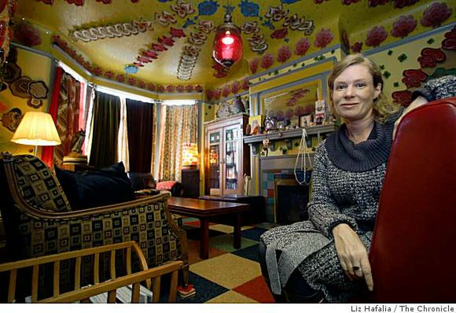 "Artist Megan Wilson spent five years turning her San Francisco house into an artwork called ""Home."" Photo: Liz Hafalia, The Chronicle"