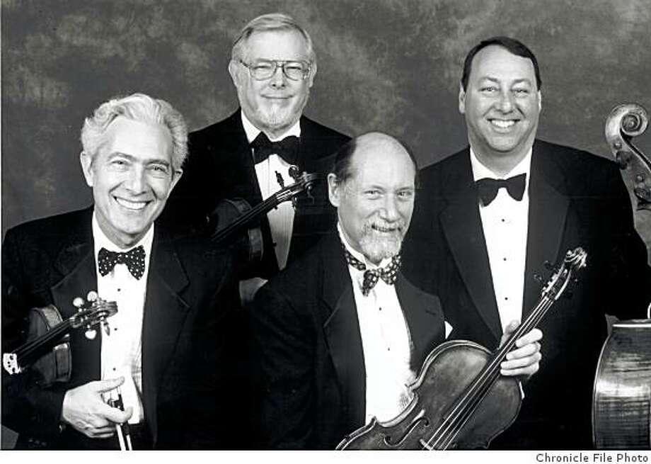Guarneri String Quartet Photo: Chronicle File Photo