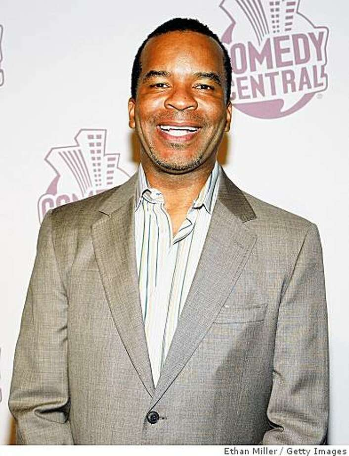 David Alan Grier arrives at Comedy Central's Emmy Awards party at the STK restaurant Sept. 21, 2008, in Los Angeles. Photo: Ethan Miller, Getty Images