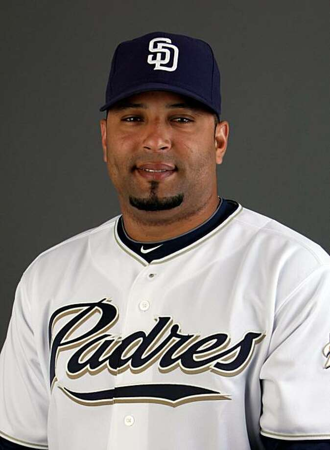 FILE - This Feb. 27, 2010, file photo shows San Diego Padres baseball player Yorvit Torrealba. Torrealba has been suspended for three games after making contact with an umpire.  Major League Baseball announced Wednesday, June 16, 2010,  that his suspension would begin that afternoon against Toronto unless he appealed. Photo: Charlie Neibergall, AP