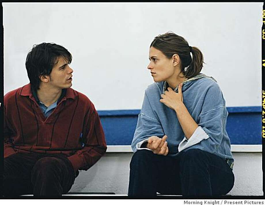 GOOD DICK is an idiosyncratic romance tale about a troubled, solitary young woman (Marianna Palka) and the persistent video clerk (Jason Ritter) who draws her out of her claustrophobic world by pursuing a courtship with her, opens on Friday Nov 14. Photo: Morning Knight, Present Pictures