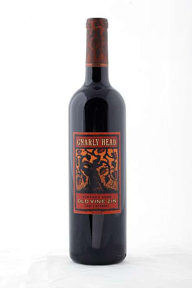 2008 Gnarly Head Old Vine Lodi Zinfandel in San Francisco, Calif., on June 9, 2010. Photo: Craig Lee, Special To The Chronicle