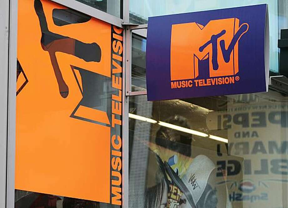 This Aug. 7, 2006 file photo shows the MTV store outside the MTV Times Square Studios, in New York.  Remember the MTV VJ? That's so two decades ago. Now the network is looking to hire its first TJ, or Twitter Jockey. Photo: Jeff Christensen, AP