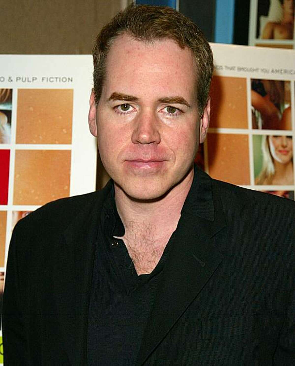 NEW YORK - OCTOBER 10: Novelist Bret Easton Ellis attends the New York screening of 'The Rules Of Attraction' at The Clearview Chelsea West Theater on October 10, 2002 in New York City. (Photo by Matthew Peyton/Getty Images)