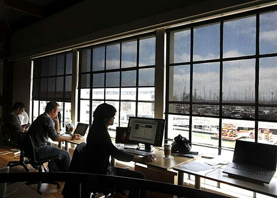 San Francisco's Pier 38 now offers office space to entrepreneurs and companies such as Dogpatch Labs. Photo: Lance Iversen, The Chronicle
