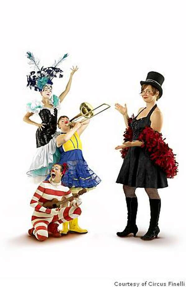 San Francisco's all-woman clown troupe Circus Finelli offers a weekend's wrth of zany hometown shows.Group D 0020 Photo: Courtesy Of Circus Finelli