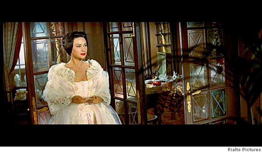 """Martine Carol as the title character in the 1955 Max Ophuls movie """"Lola Montes,"""" which has been restored and rereleased in 2008.Martine Carol in�Max Oph?ls' LOLA MONT�S (1955). Credit: Rialto Pictures. Playing 10/10-10/30 Photo: Rialto Pictures"""