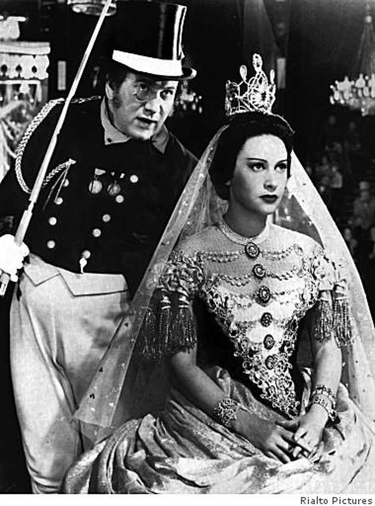 Martine Carol as the title character in the 1955 Max Ophuls movie