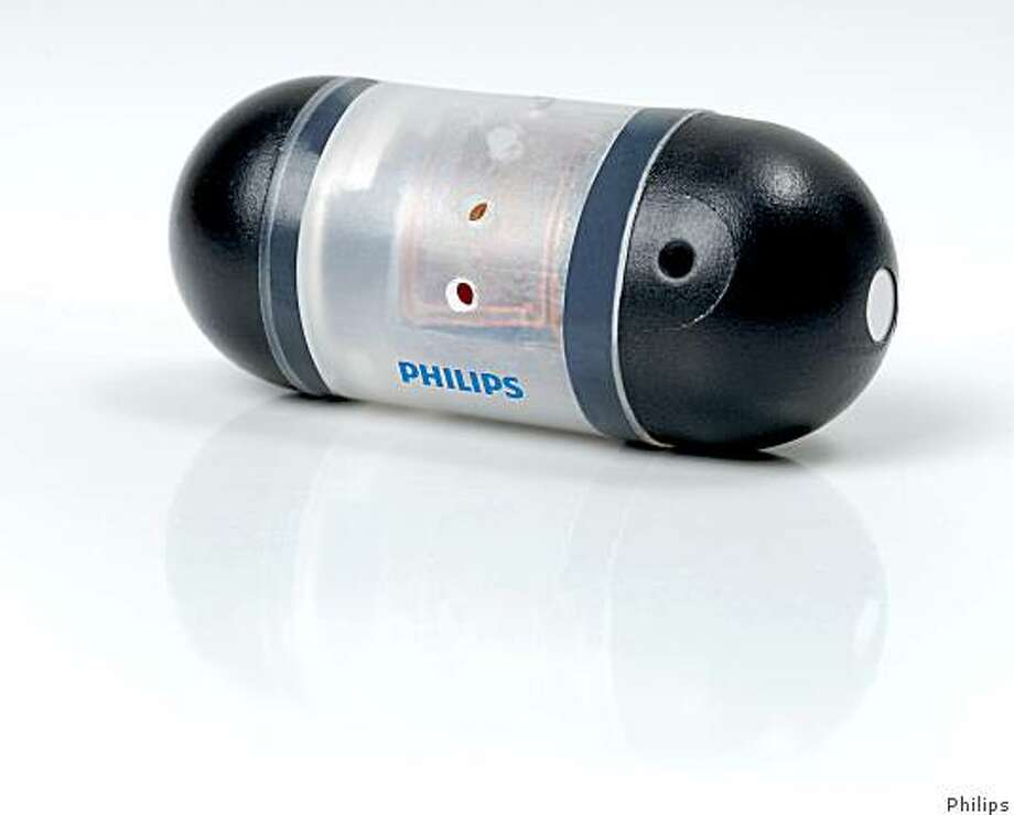 "Dutch electronic company Philips has developed an ""intelligent pill"" that can be programmed to deliver drugs at a specific spot in the gastrointestinal tract and is calling it the iPill. Photo: Philips"