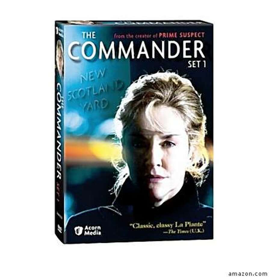 dvd cover THE COMMANDER: SET 1 Photo: Amazon.com