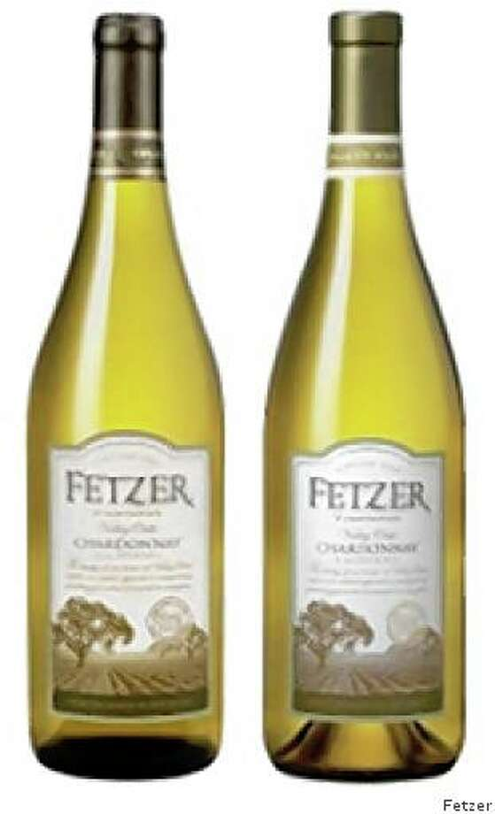 Examples of a lightweight and regular bottle from Fetzer. Photo: Fetzer