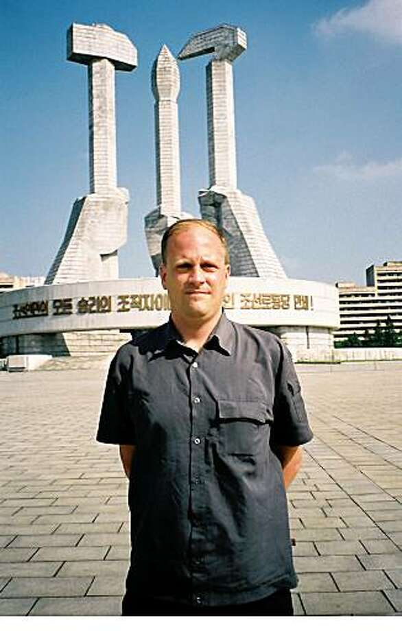 """TRAVEL JUSTBACK -- J.C. Thomas, San FranciscoEmail: john-christopher.thomas@sap.comDaytime phone number: 650 849 2864Just back from: Pyongyang, North KoreaI went because: ... to experience something completely different, and to witness the 60th anniversary celebration of the Democratic People?s Republic of Korea.Don't miss: ... the breathtaking panorama of Pyongyang from the observation deck of the Tower of the Juche Idea.Don't bother: ... the Foreign Languages Bookshop is well-stocked, but equivalent publications are also available in the main hotels.Coolest souvenir: ... a color photocopy of my visa to visit the D.P.R.K.Worth a splurge: ... if you visit to attend the Mass Games, it is worth paying to watch both of them: """"Arirang"""" and """"Prosper the Motherland.""""I wish I'd packed: ... Western newspapers for airplane reading, as these are quite difficult to come by.Other comments: Details of attached photo (if sent): J.C. Thomas standing in front of the Monument to Party Foundation (see www.esquire.com/the-side/opinion/7totalitarianwonders-8).10/22/08 in , .north_korea.jpg"""