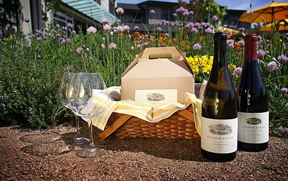 The picnic at Lymar Estates in Sonoma. Photo: Lymar Estates