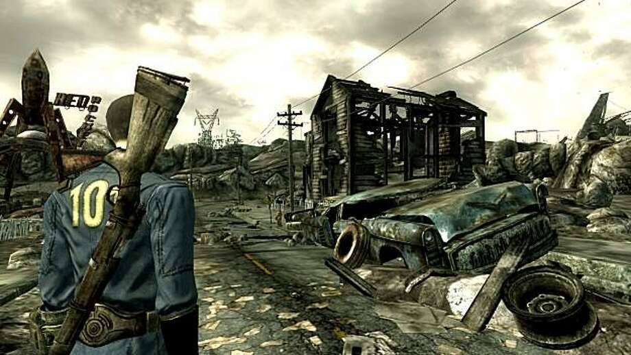 The video game Fallout 3 takes place in post-apocalyptic United States. Photo: Bethesda Game Studios, Courtesy