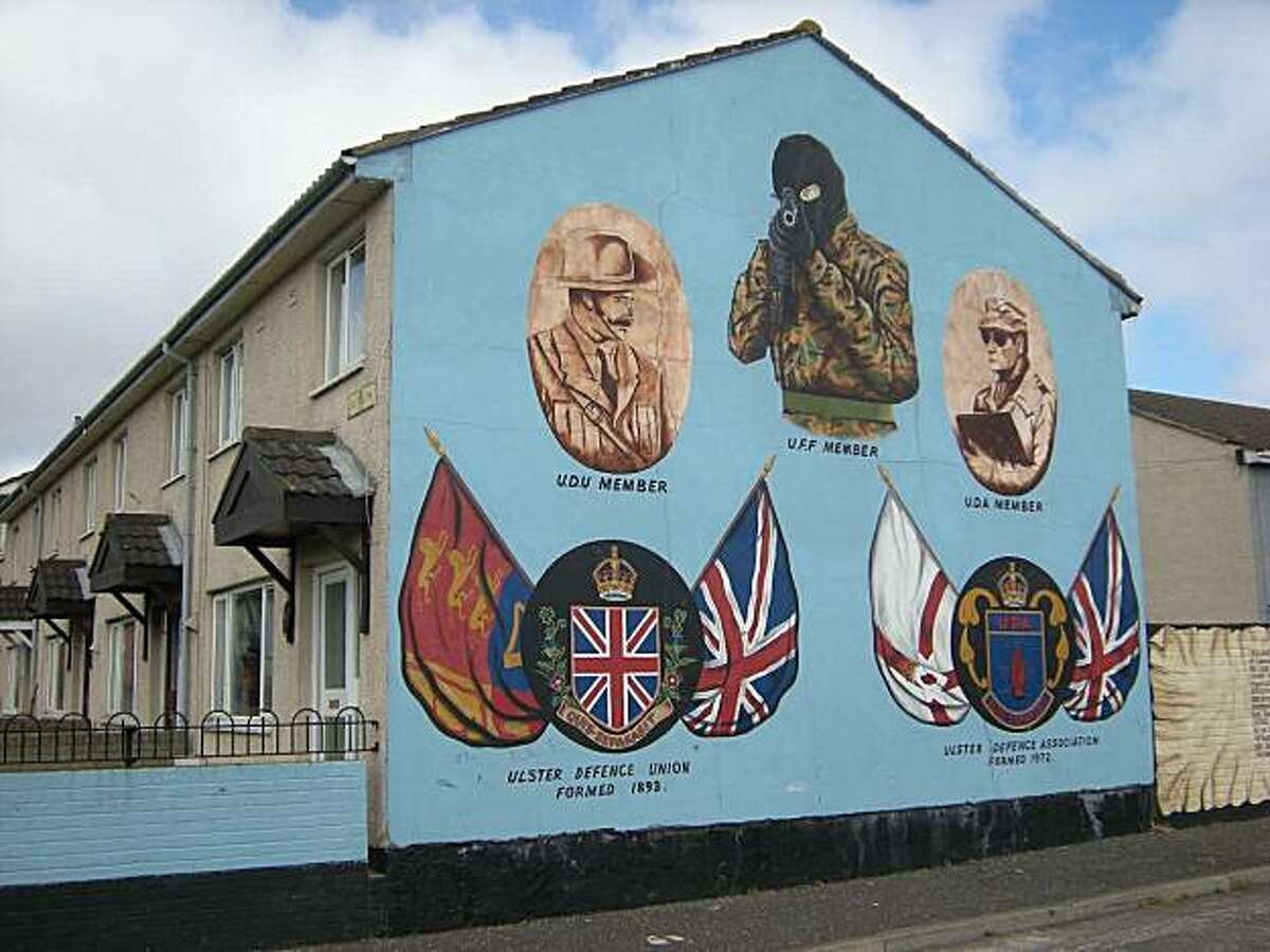 Murals in Belfast are among the highlights of the popular
