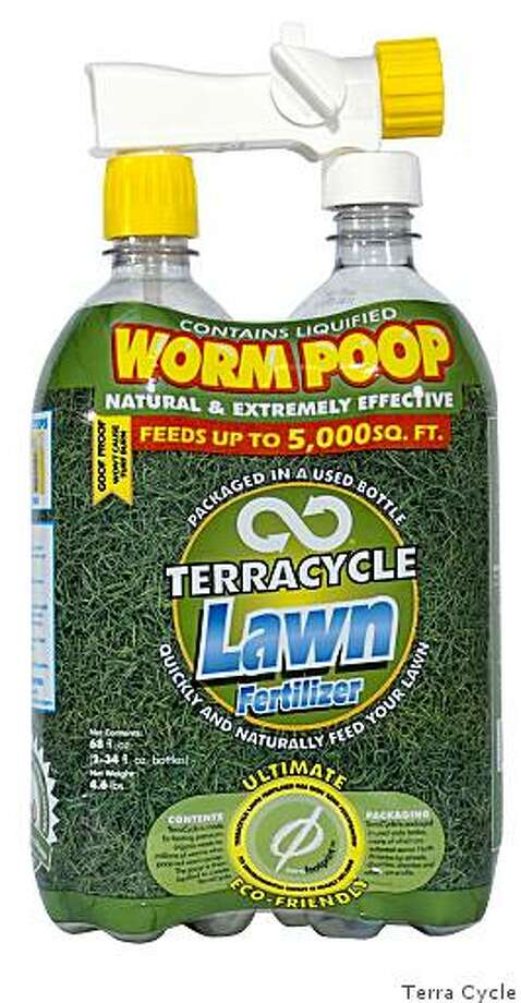 Worm poop, sold in recycled soda bottles from TerraCycle Photo: Terra Cycle