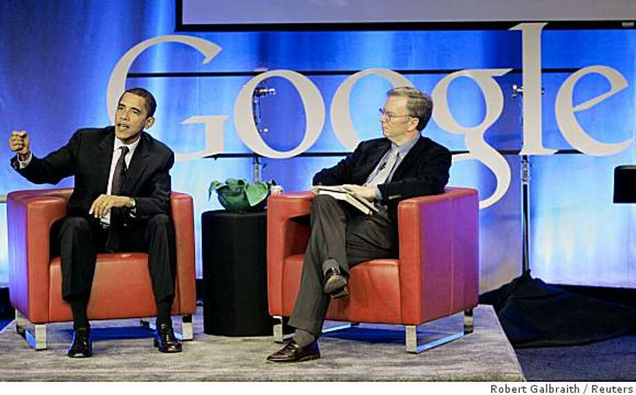 Whither Google CEO Eric Schmidt in the new Obama administration? Photo: Robert Galbraith, Reuters
