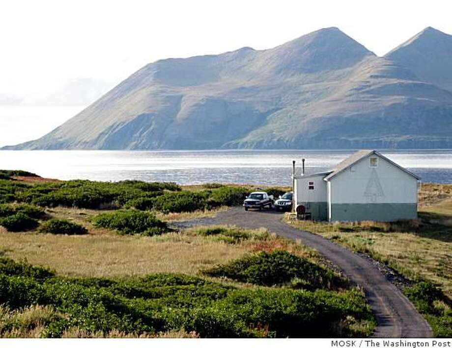 The 800 residents of King Cove, Alaska, live in relative isolation. A proposal to build a road to the village through the Izembek National Wildlife Refuge has escalated into a debate that has moved to Congress. Illustrates ALASKA-ROAD (category a), by Matthew Mosk and Marc Kaufman (c) 2008, The Washington Post. Moved Saturday, Nov. 8, 2008. (MUST CREDIT: Washington Post photo by Matthew Mosk.) Photo: MOSK, The Washington Post