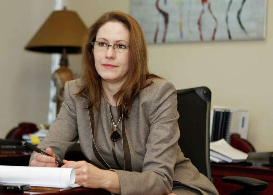Rachel Giesber Clingman of Houston is to be the lead trial counsel for Transocean in the upcoming Deepwater Horizon civil trial in New Orleans. Photo: James Nielsen / © 2011 Houston Chronicle