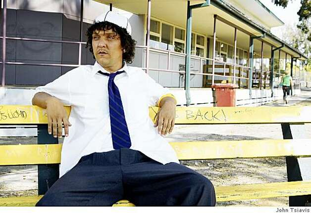 Chris Lilley in HBO's SUMMER HEIGHTS HIGH Photo: John Tsiavis