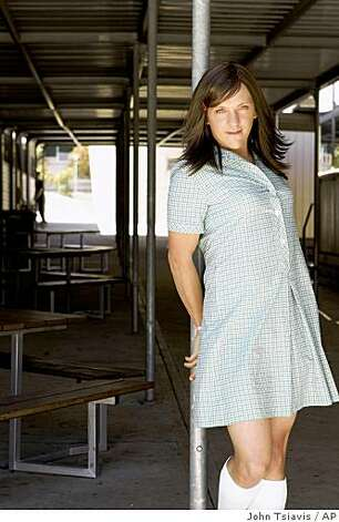 "In this image released by HBO, Chris Lilley is shown as Ja'mie, a haughty, private school female exchange student in the HBO series  ""Summer Heights High,"" premiering Sunday, Nov. 9, at 10:30 p.m. Photo: John Tsiavis, AP"