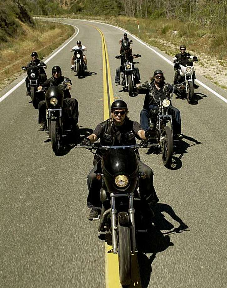 """Sons of Anarchy,"" an FX Network show about bikers. Photo: Timothy Whit, FX"