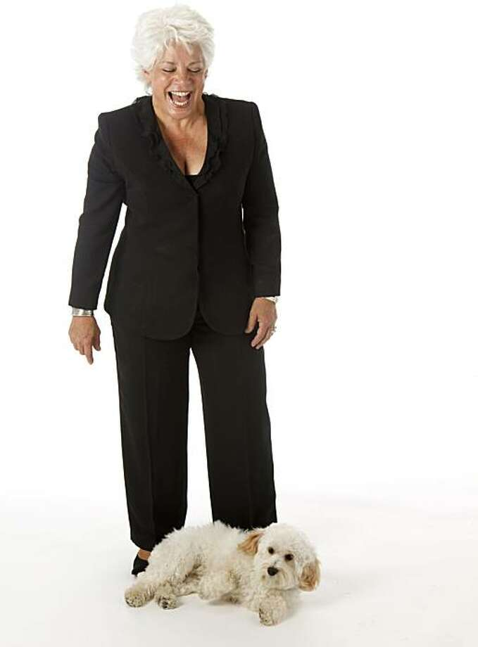Marian Wheeler who's seen posing with her dog, Tawny, on Monday, April 26, 2010 in San Francisco, Calif., is in this week's Stylemaker Spotlight. Photo: Russell Yip, The Chronicle