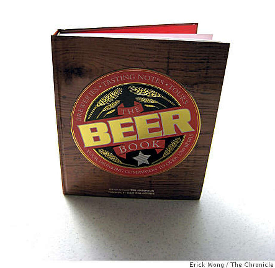 """The Beer Book,? $25, 352 pages, DK Publishing. Photo: Erick Wong, The Chronicle"