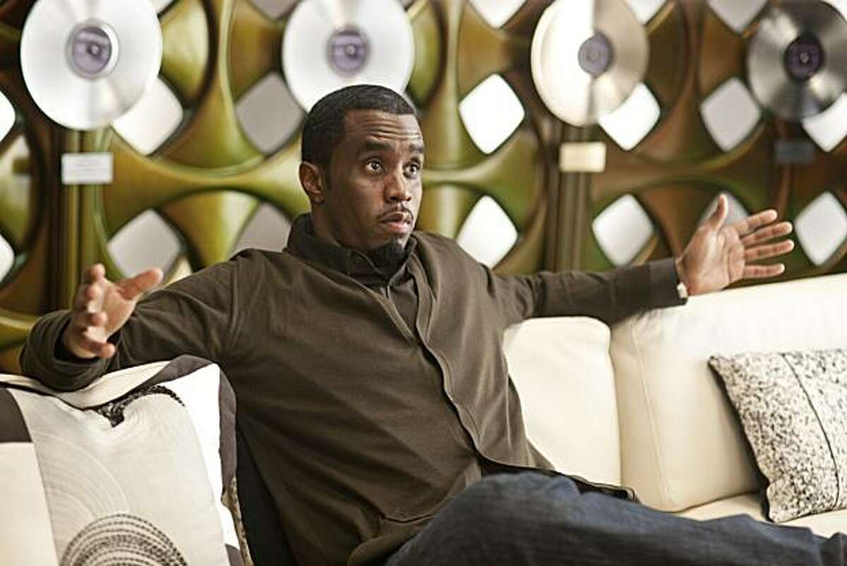 SEAN COMBS as the head of Pinnacle Records, Sergio Roma, in