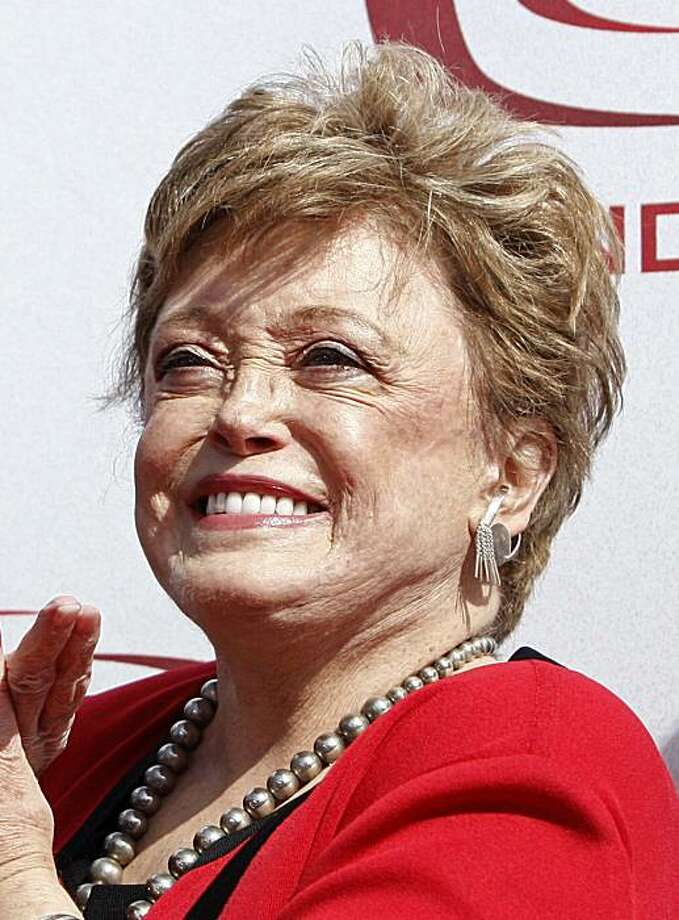FILE - In this June 8, 2008 file photo, actress Rue McClanahan arrives at the TV Land Awards in Santa Monica, Calif. Photo: Matt Sayles, AP
