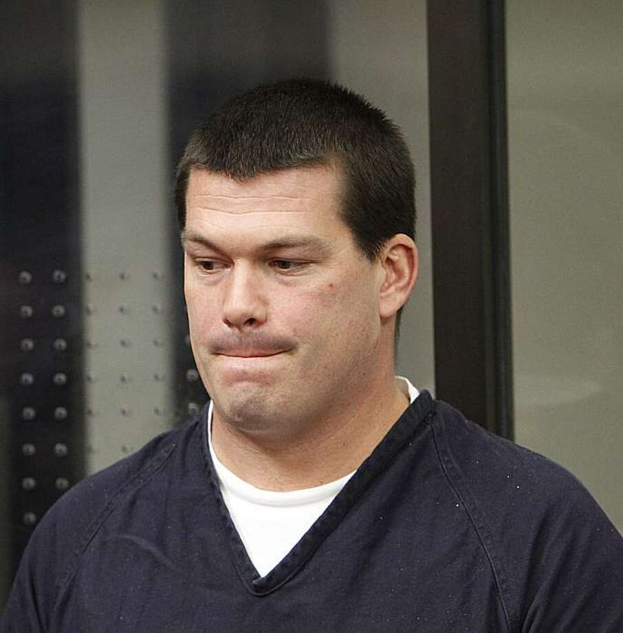 FILE - In this April 16, 2010, file photo, John Gardner pleads guilty to two counts of murder in a San Diego, Calif.,  Superior Court. An independent review has found that state parole agents missed numerous chances to send the convicted child molester back to prison before he raped and killed two teenagers in the San Diego area. The report issued Wednesday, June 2, 2010 by the inspector general for the state corrections department examines how agents handled the case of Gardner. Photo: Earnie Grafton, AP