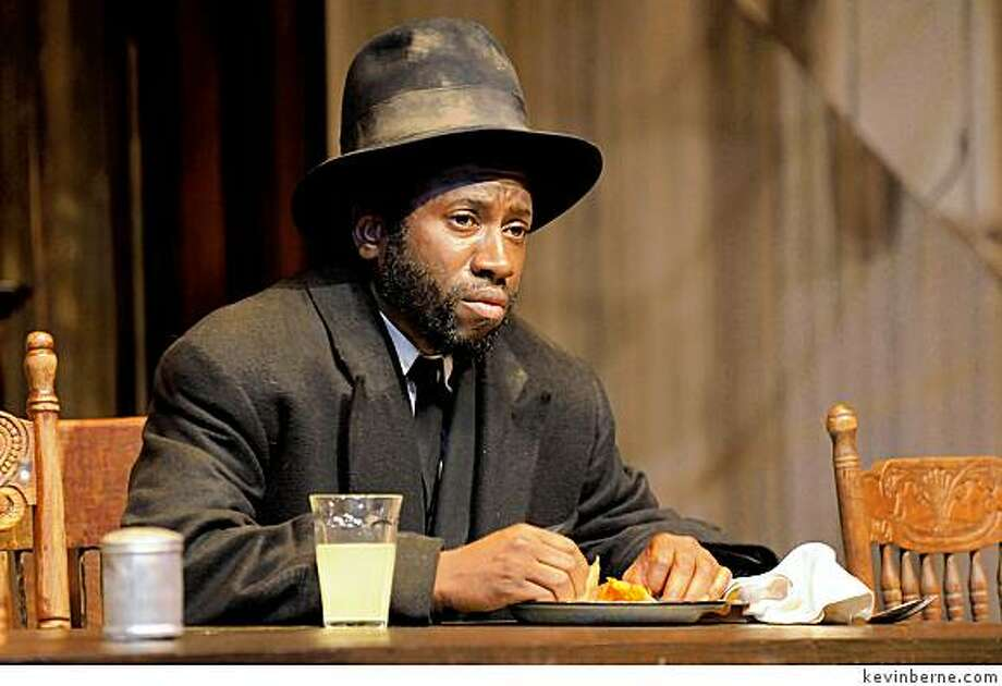 "Teagle F. Bougere stars as the mysterious Herald Loomis in August Wilson's ""Joe Turner's Come and Gone"" at Berkeley Rep Photo: Kevinberne.com"