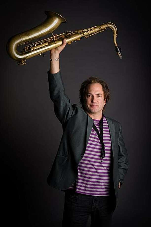 Saxophonist Peter Apfelbaum Photo: Courtesy, Michael Weintraub