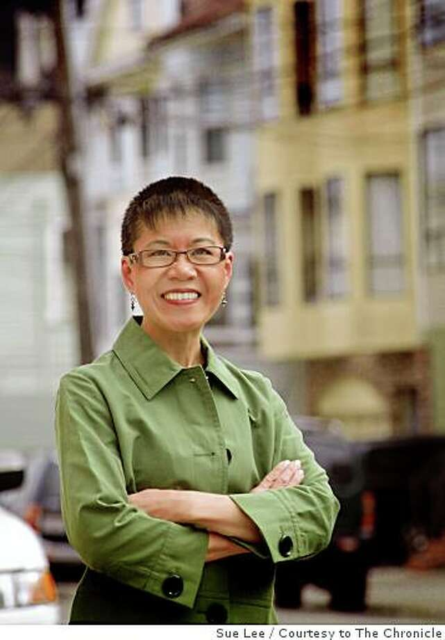 Sue Lee, 56, is the executive director of the Chinese Historical Society of America and is running for the Board of Supervisors, District 1. Photo: Sue Lee, Courtesy To The Chronicle