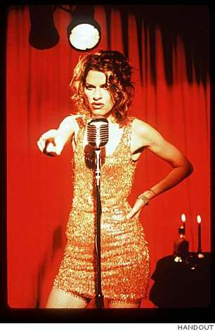 Sandra Bernhard shot her HBO special at Slim's nightclub in San Francisco in 1998. Photo: HANDOUT