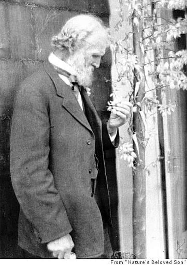 "Caption from the book, ""Nature's Beloved Son:""  ""John Muir, c. 1905."" / FOR USE WITH BOOK REVIEW ONLY Photo: From ""Nature's Beloved Son"""