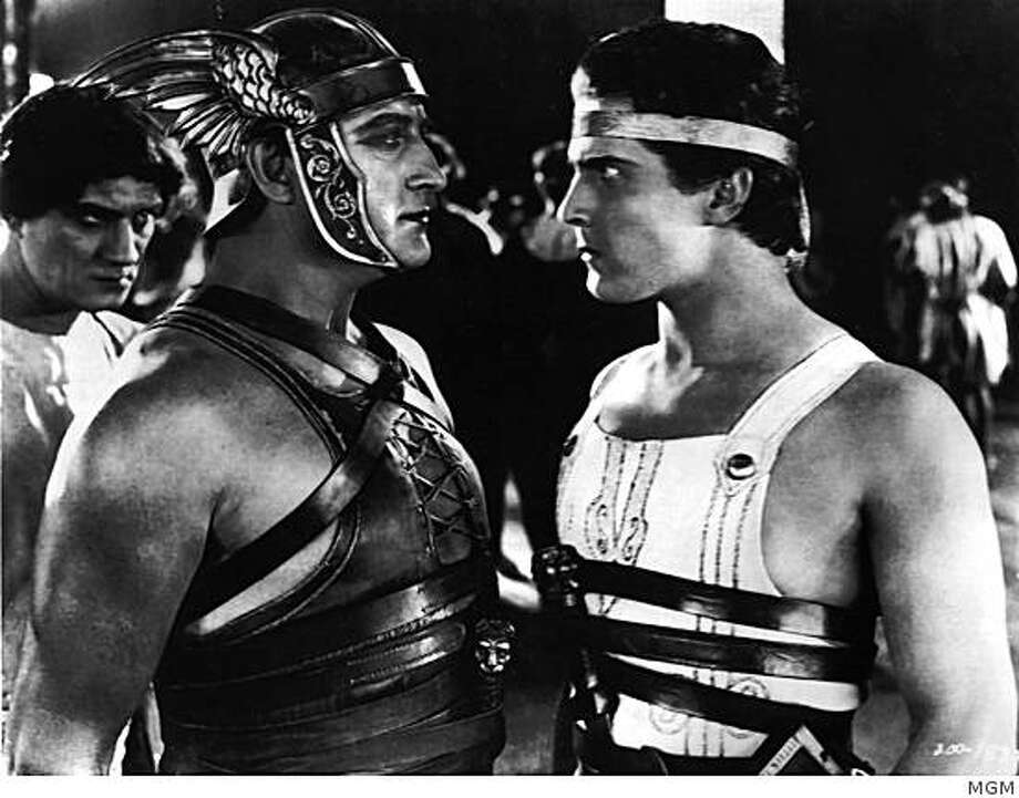 "Francis X. Bushman and Ramon Novarro in ""Ben Hur: A Tale of the Christ"" (1925) Photo: MGM"