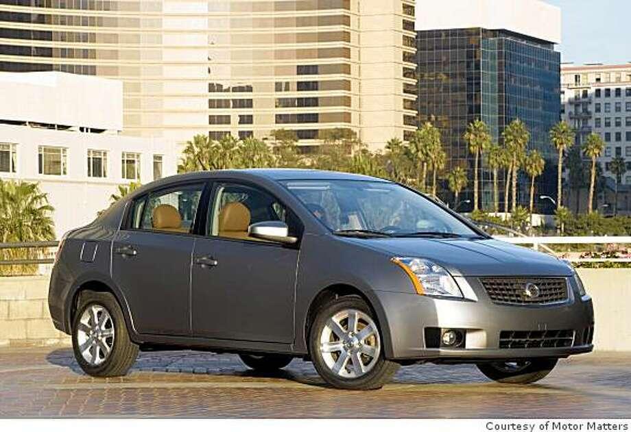 2008 Nissan Sentra 2.0 SL Photo: Courtesy Of Motor Matters