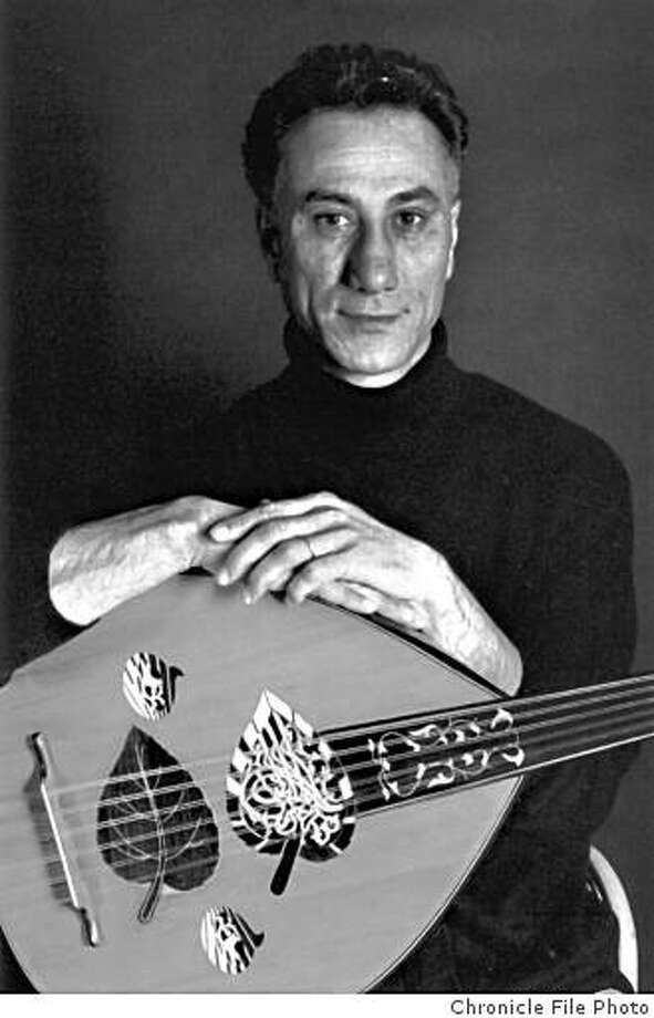 Rahim Alhaj, Iraqi oud musician and composer. (2005) Photo: Chronicle File Photo