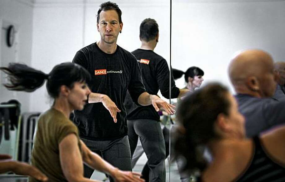 """Peter Litwinowicz the founder and artistic director of Dance Continuum, holds rehearsals with his ballet company on Saturday May 15, 2010, in San Francisco, Calif. Litwinowicz,  is the owner of """"Vision Effects""""a software special effects company who is also a modern dance choreographer and dancer. Photo: Michael Macor, The Chronicle"""