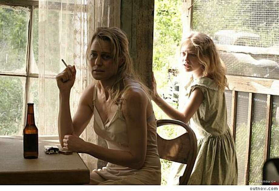 Robin Penn Wright and Dakota Fanning in HOUNDDOG. Photo: Outnow.com