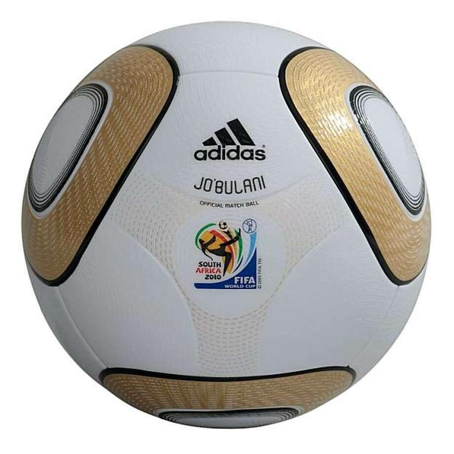 "the Adidas Official Match Ball for the 2010 FIFA World Cup™ finals match in South Africa. The adidas ""JO'BULANI"" is a unique gold-colored version of the ""JABULANI"", the Official Match Ball of the 2010 FIFA World Cup™.  The name ""JO'BULANI"" is inspired by the name ""JABULANI"", which means ""to celebrate"" in isiZulu, one of the eleven official languages of the Republic of South Africa spoken by almost 25 percent of the population. The name ""JO'BULANI"" is also a tribute to the host city of the final, Johannesburg, or Jo'burg as it is commonly referred to.  Designed in white and gold, the ""JO'BULANI"" is a compliment to both the color of the FIFA World Cup™ trophy and Johannesburg, the ""City of Gold."" Photo: Adidas"