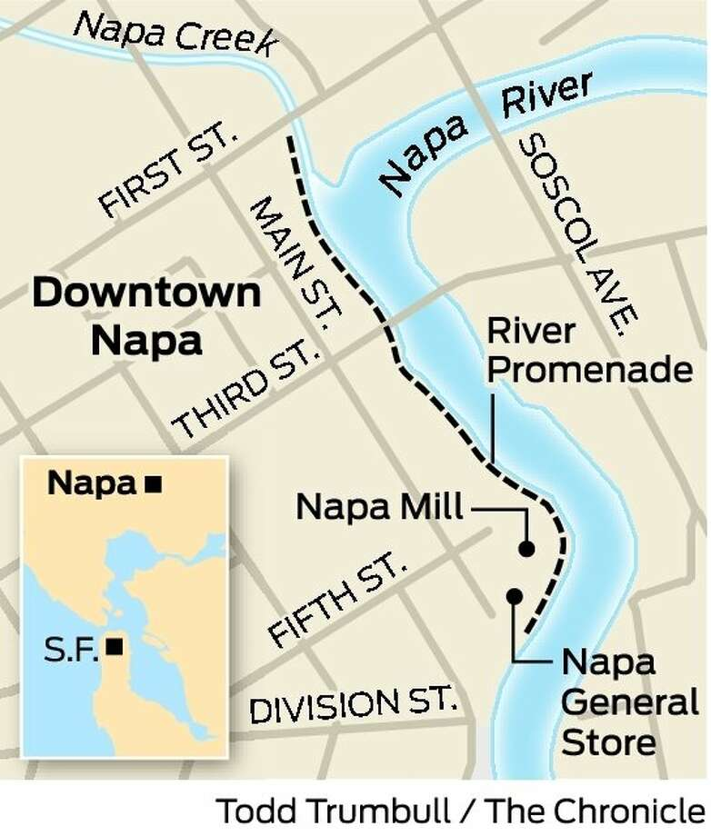 Main Street Riverfront District Napa SFGate