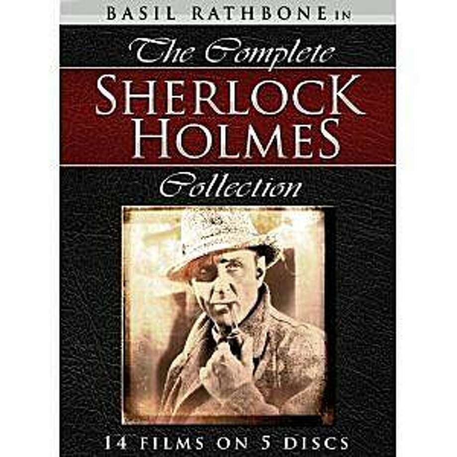 dvd set COMPLETE SHERLOCK HOLMES Photo: Amazon.com