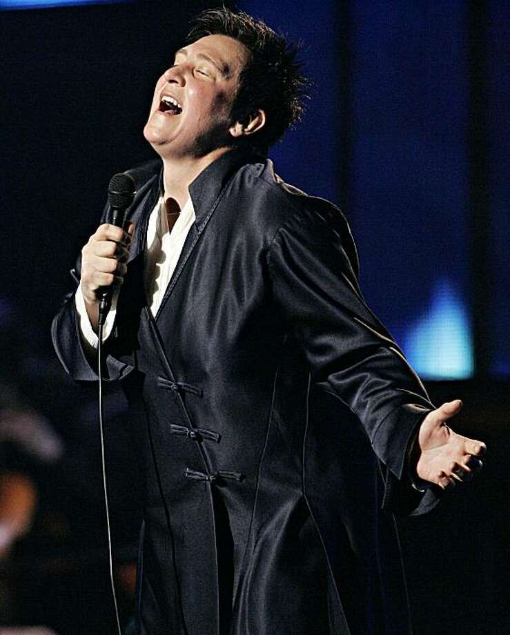 History: K.D. Lang performs during the Juno awards in Winnipeg, Sunday April 3, 2005. (AP Photo/Marianne Helm, CP) Ran on: 08-20-2006 Singer k.d. lang performs Wednesday and Thursday at the Mountain Winery in Saratoga. Ran on: 01-25-2008 K.d. lang will perform at the Palace of Fine Arts in March. K.D. Lang performs during the Juno awards in Winnipeg, Sunday April 3, 2005. (AP Photo/Marianne Helm, CP) Photo: Marianne Helm, AP