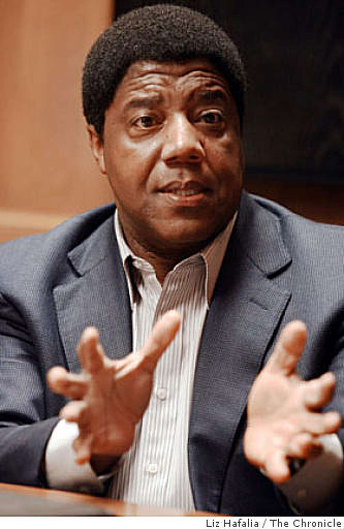 Chief executive officer Lloyd Dean of Catholic Healthcare West in San Francisco, Calif., on monday, October 20, 2008.